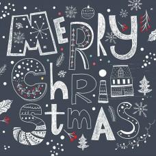 01 Merry Christmas Clip Art Digital Clip Art Images Wallpaper Vector Graphics Design-SD19