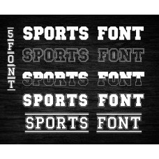 Uppercase font svg,Sports font SVG,Sports font,Sports Script font,Sports Script font SVG,ttf Font for Cricut,SVG file,ttf file-TP01